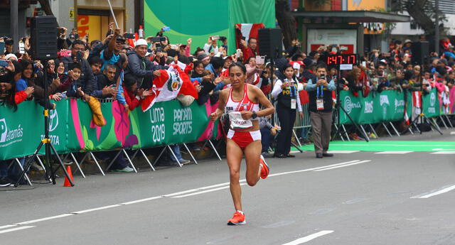 Gladys Tejeda consiguió la primera medalla de oro para Perú en los Juegos Panamericanos Lima 2019 | Foto: Eric Villalobos/Grupo La República