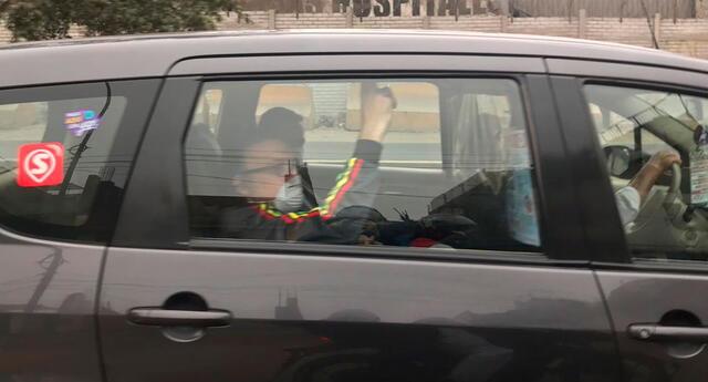 Pier Figari fue puesto en libertad esta tarde, tras una orden judicial del juez César Sahuanay.