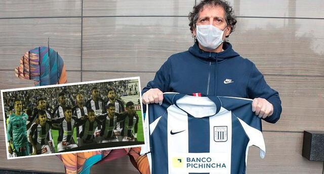 Mario Salas peleará con Alianza Lima la Liga 1 y Copa Libertadores.