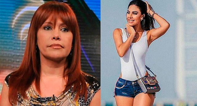 Magaly Medina cuestiona la vida de Stephanie Valenzuela.