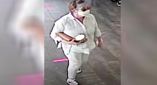 La mujer ya está siendo buscada por la policía de Estados Unidos.