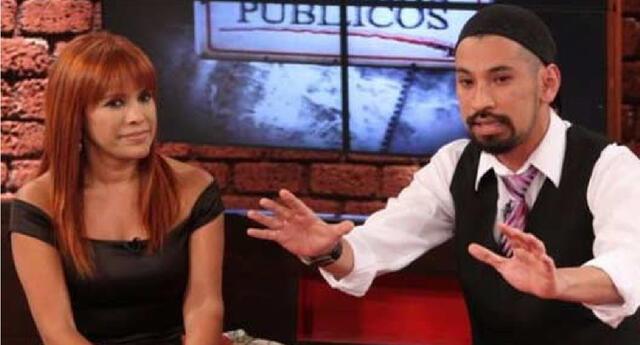 Magaly Medina criticó entrevista a Andrés Wiese en América.