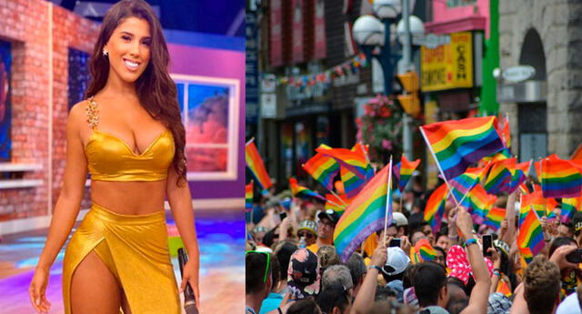 Yahaira Plasencia a favor de la comunidad LGBT.