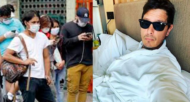 El actor Cristian Rivero utilizó su cuenta de Twitter para pronunciarse tras el levantamiento de la cuarentena por el COVID-19.