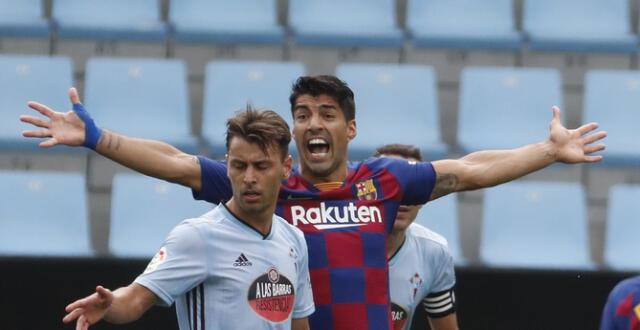 El uruguayo quedó muy incómodo con el empate