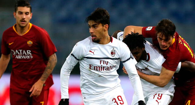 Milan vs Roma: Sigue el partido por El Popular.