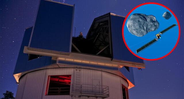 El Lowell Discovery Telescope en Arizona, uno de los telescopios de todo el mundo que se utilizará para evaluar el resultado del impacto de DART.