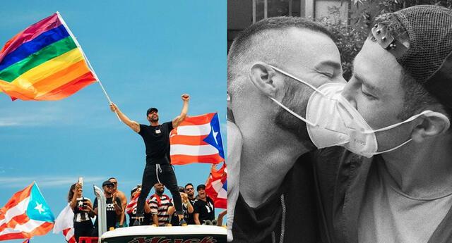 Ricky Martin celebra junto a su esposo el Día Internacional del Orgullo LGBT