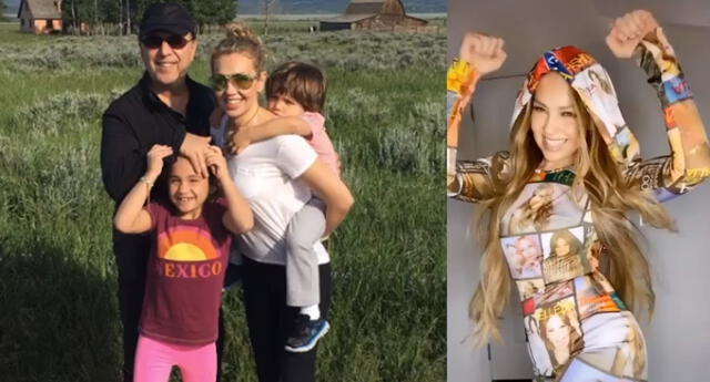 Thalía revela que sus engreídos no están interesados en el mundo del espectáculo
