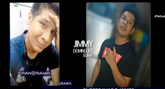 Jimmy Domínguez Soria de 24 años pero fue libertado por tener arraigo laboral.