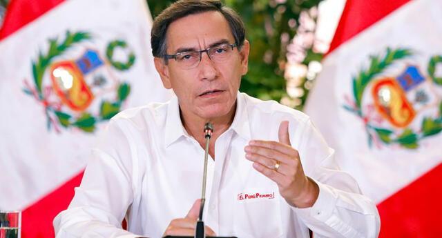 Mensaje a la Nación de Martín Vizcarra.
