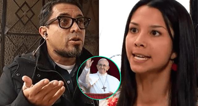 Al saber que Mayra Coutó se burló del papa Francisco por sus donaciones durante la pandemia, Adolfo Bolívar la cuestionó