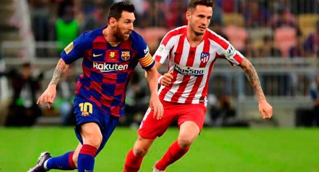 Barcelona recibe al Atlético de Madrid en el Camp Nou a las 3:00 p.m..
