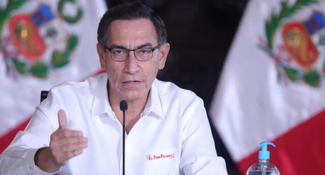 Martín Vizcarra ofreció conferencia de prensa este martes 30 de junio | Foto: Andina
