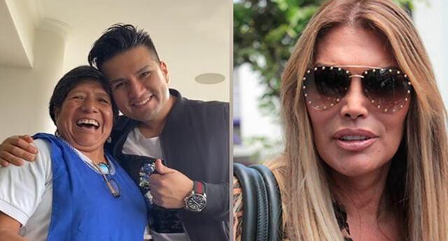 Jessica Newton presentó en redes sociales a Rosaura.