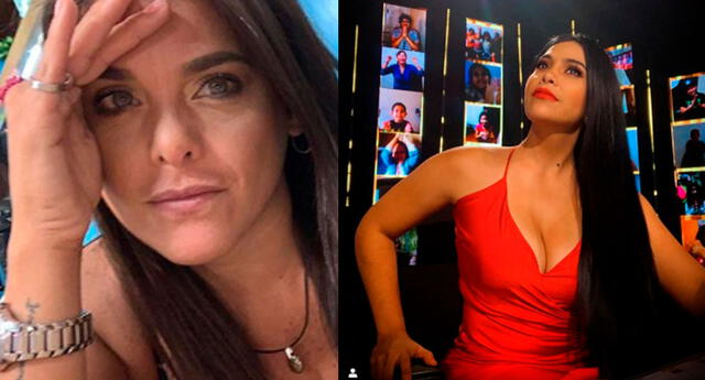 Giovanna Valcárcel no cree en nadie y le lanza una dura advertencia a Maricarmen Marín.