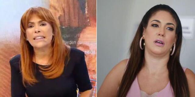 Magaly Medina arremete contra Tilsa Lozano.