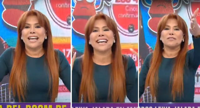 Magaly Medina se pronunció sobre el blooper de Milagros Leiva y le dijo: