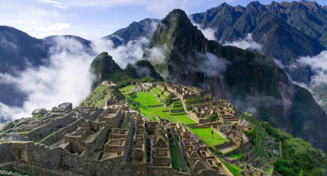 Machu Picchu, uno de los atractivo del Perú más visitado por los turistas.