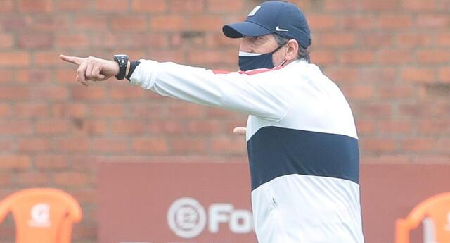 Mario Salas ya dirige los entrenamientos en Alianza Lima   Foto: Club Alianza Lima