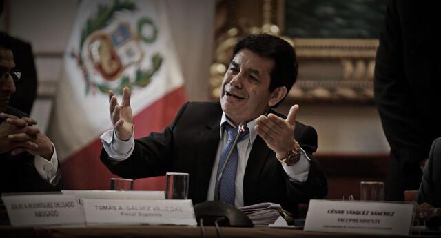 A Gálvez Villegas se le investiga por los delitos de organización criminal, tráfico de influencias, cohecho activo específico y patrocinio ilegal en agravio al Estado.