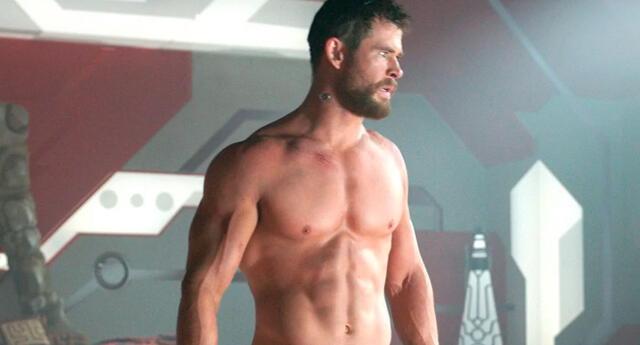 Joven hizo la rutina de ejercicios de Chris Hemsworth