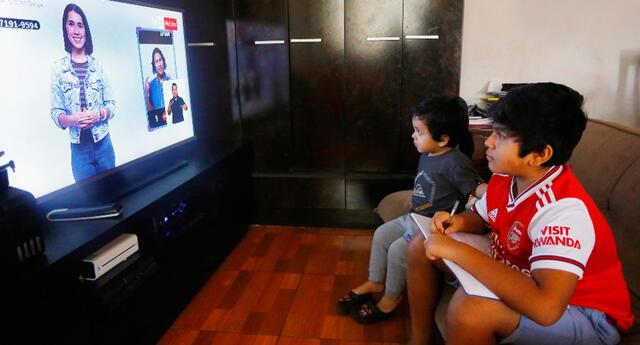 Aprendo en casa: programación y horario de clases virtuales