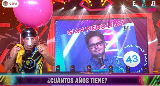 Jazmín Pinedo bromea con la edad de Gian Piero Díaz