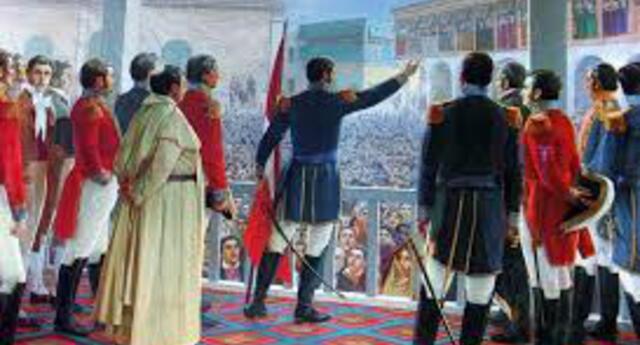 La Independencia del Perú es un proceso histórico social, que corresponde a todo un periodo de fenómenos sociales.
