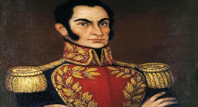 Simón Bolívar, libertador de América.