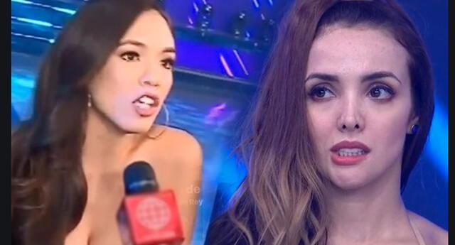 Rosángela Espinoza sorprende imitando a Jazmín Pinedo