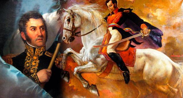Según la historia, José de San Martín fue pieza clave en la liberación de los países de Chile y Argentina en las batallas de Chacabuco y Maipú.