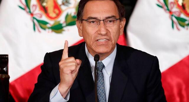 Martín Vizcarra anuncia la entrega de un nuevo bono universal.