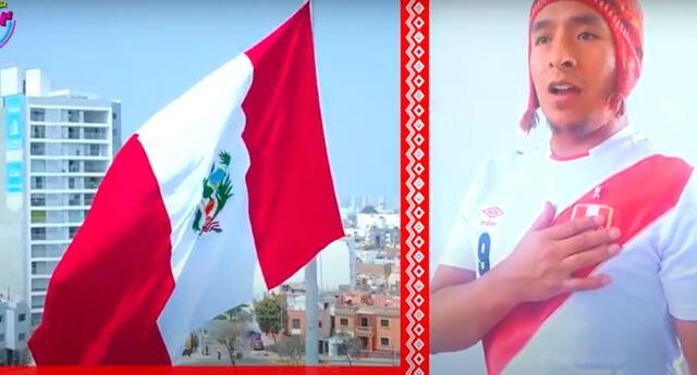 Youtuber peruano invita a cantar el himno nacional en quechua