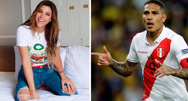 Paolo y Alondra saludaron al Perú por el Día de la Independencia.