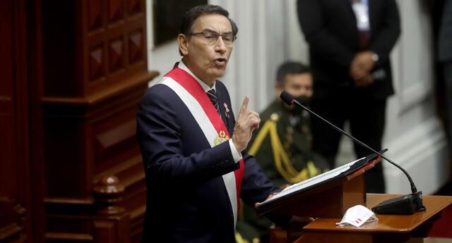 Martín Vizcarra ofreció mensaje a la Nación por Fiestas Patrias.