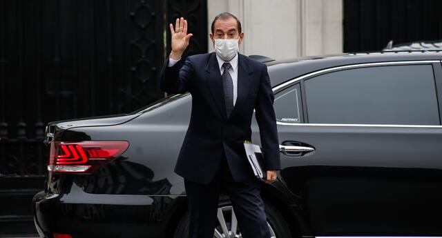 Ministro de Defensa, Walter Martos, confirmó la extensión del estado de emergencia.
