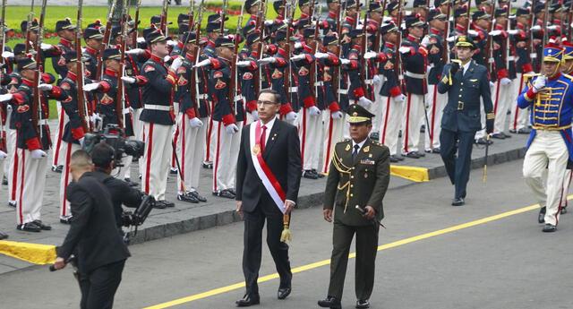 La Gran Parada y Desfile Cívico Militar 2019.