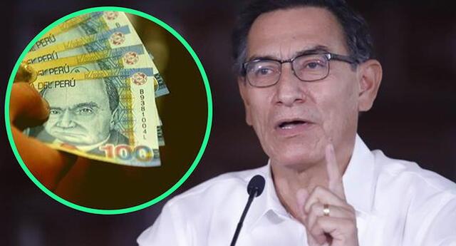 Como se sabe, la entrega de este bono lo dio a conocer el mandatario Martín Vizcarra durante du mensaje a la Nación por Fiestas Patrias.