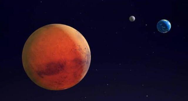 Marte y sus características | Foto: La Tercera/difusión