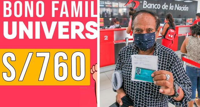 Recuerda que el bono familiar universal puedes cobrarlo -como máximo- hasta 30 días calendario posteriores al término del estado de emergencia.
