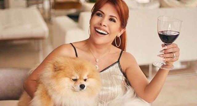 Magaly Medina volvió a la televisión por lo grande tras positivo de coronavirus.