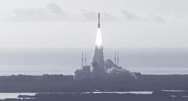 Mira aquí el momento del despegue del rover Perseverance al planeta Marte.