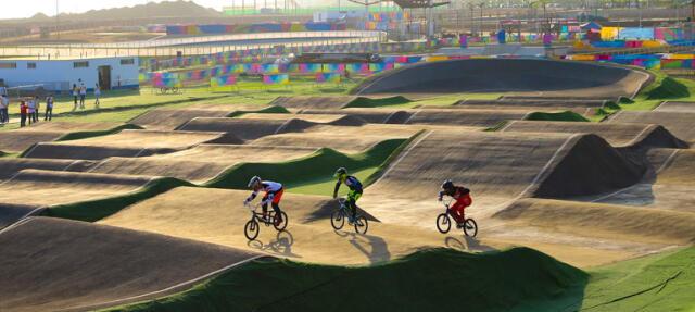 Los deportistas ya entrenan en el complejo de la Costa Verde