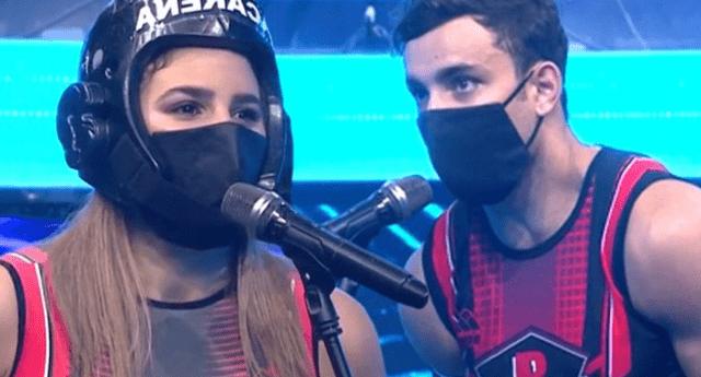 Alejandra Baigorria y Said Palao fueron captados besándose.