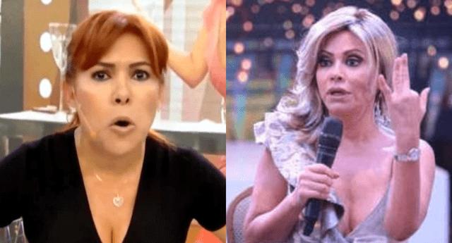 """Magaly Medina criticó a Gisela Valcárcel por desafortunado comentario sobre sus detractores, y la llamó """"disforzada""""."""