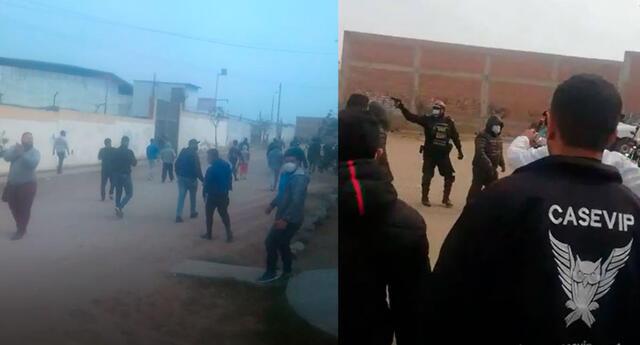 Enfrentamiento entre mototaxistas y agentes municipales