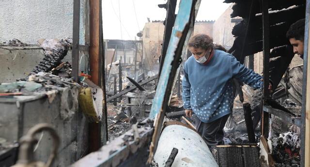 Reniec dará atención gratuita a damnificados del incendio del jirón Callao.
