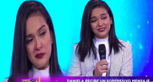 Daniela Darcourt se confesó y agradece a la música.