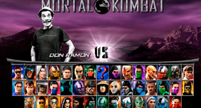 Don Ramón peleó en Mortal Kombat.